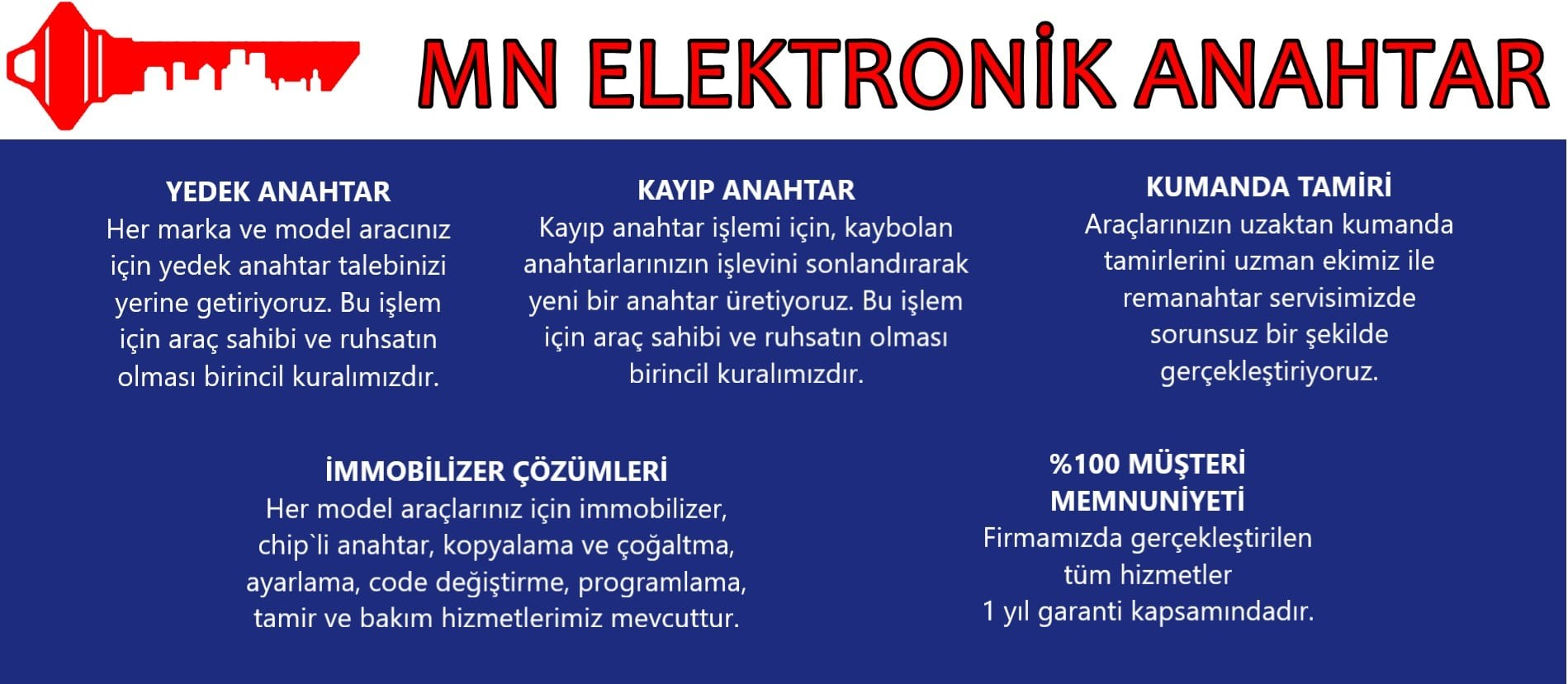 Mn Elektronik Anahtar